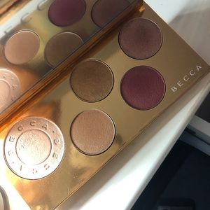 Becca holiday palette